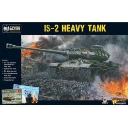 IS-2 Heavy Tank plastique