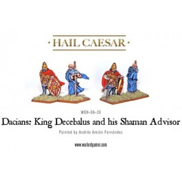 Daces: roi Decebalus et son chamane