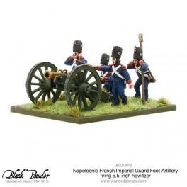 Artillerie à pied de la garde obusier