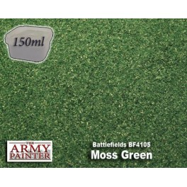 Battlefields Flock: Moss Green