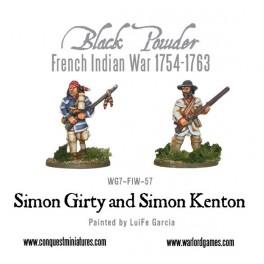 Simon Girty and Simon Kenton