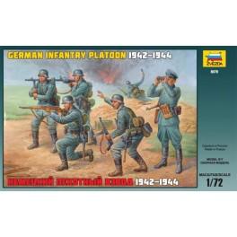Zvezda German Infantry Platoon 1942-1943