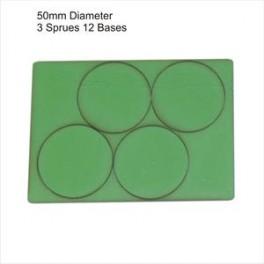 Socles vert diamètre 50mm