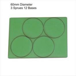 Socles vert diamètre 60mm