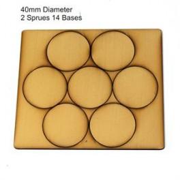 Socles beige diamètre 40mm