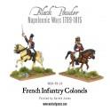 Colonels français à cheval