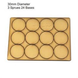 Socles beige diamètre 30mm