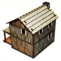 Maison à étage de Colon de la Nouvelle France