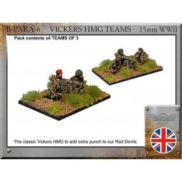 Section de parachutistes Vickers HMG