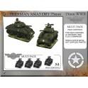 Sherman M4A3 Dry 75mm