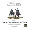 Prussian Landwehr Mounted Officers 1789-1815