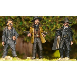 AWW016 Doc Holliday, Wild Bill,...