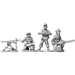 SWW0011 Afrika Korps MG34 en position de tir