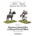 Napoleonic Marshal Ney & Mounted French Officer