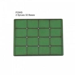 Socles vert FOW petits
