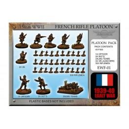 EWF1-Section d'infanterie française