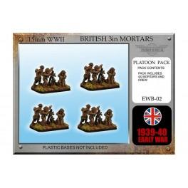 EWB2 Mortiers anglais de 3in