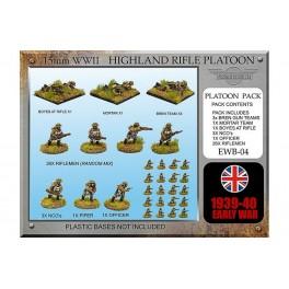 EWB4 Section d'infanterie écossaise