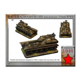 R-87 Uralmash SU-101 tank destroyer