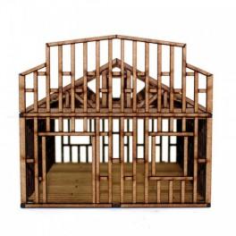 Single Storey Small Building Under Construction