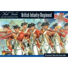 British Infantry Regiment (Plastic Box)