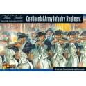 Continental Infantry Regiment (Plastic Box)