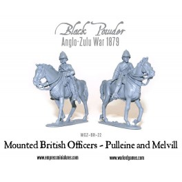 British Mounted Officers - Pulleine & Melvill 1879
