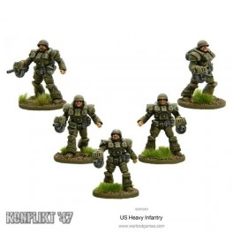 US Heavy infantry