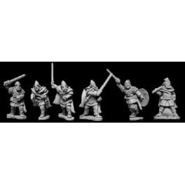 VIK007 - Viking Hirdmen with Hand Weapons