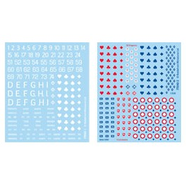 FR940 French Decal Set