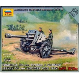 1/72nd Zvezda German Le FH18 howitzer