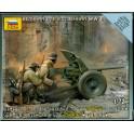 1/72nd Zvezda German Pak 36 anti tank gun