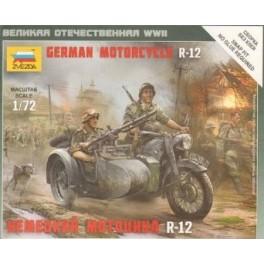 1/72nd Zvezda German R12 Motorcycle