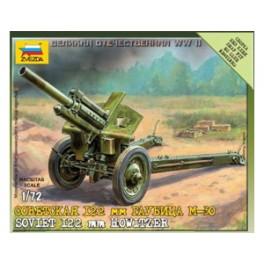 1/72nd Zvezda 122mm Soviet Howitzer