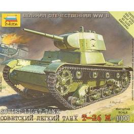 15mm Zvezda T26 Tank