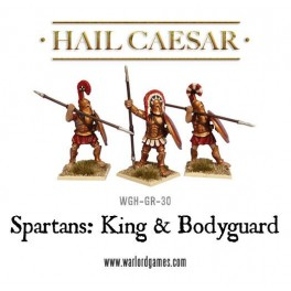 Sparte: roi et gardes du corps