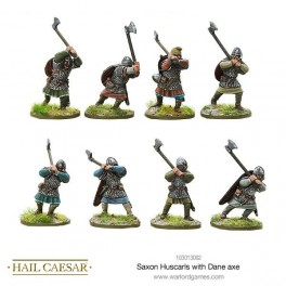 Saxon Huscarls with Dane axe