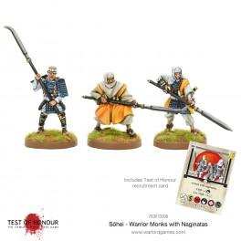 Sōhei - Warrior Monks with Naginata