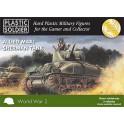 15mm Easy Assembly Sherman M4A1 75mmTank