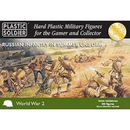 15mm Russian Infantry in Summer Uniform