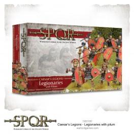 SPQR: Légionnaires romains avec pilum