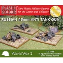 1/72nd Russian 45mm anti tank gun