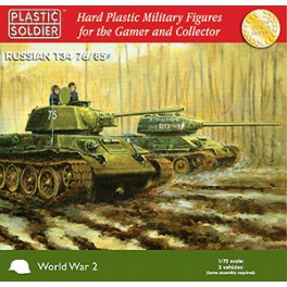 1/72nd Easy Assembly T34 76/85