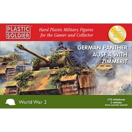 1/72nd Panther Ausf A with zimmerit