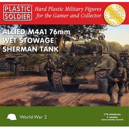 1/72nd Easy Assembly Sherman M4A1 76mm Wet Tank