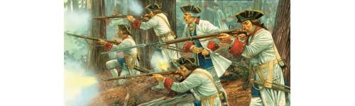 French Indian War 1754-1763, la Guerre de la Conquête